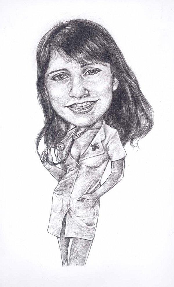 Caricatura a lápis